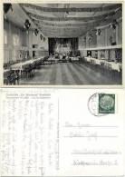 """AK Kreisfeld 1940, Südharz, Gasthaus """" Zur Erholung """" Tanzdiele, Bühne, Instrumente - Mansfeld"""