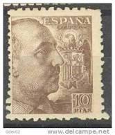 ES935-L2347THSC.España.Spa In .Espagne.GENERAL FRANCO.1940/45. (Ed 935**)sin Charnela.MUY BONITO - Historia