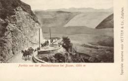 Parthie Von Der Mendelstrasse Bei Bozen - Postkaarten