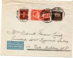 1941 LETTERA CON ANNULLO TORINO - 1900-44 Victor Emmanuel III.