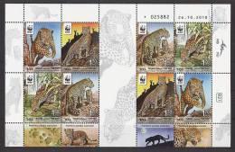 ISRAEL 2011 - Leopard  - Feuillet De 2 Séries Neuf*** (MNH SET) Magnifique Série - W.W.F.