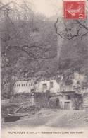 CPA 37  MONTLOUIS, Habitation Dans Le Coteau De La Bonde.(1909) - Autres Communes