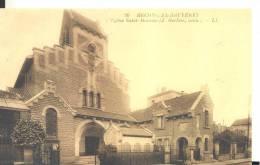 BECON-LES-BRUYERES  L´Eglise Saint-Maurice , Trés Bon état ( Voir Scan ) - France