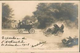ELECTROMOTION 54 Avenue Montaigne PARIS (Expo Auto 1902) - Postcards