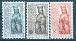 Liechtenstein 1954 Madonna In Wood MNH** - Lot. 1824 - Liechtenstein