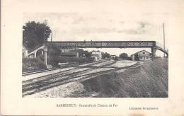 BARBEZIEUX - Passerelle Du Chemin De Fer - France