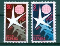 Spain 1958 Universal And Intl. Exposition At Brussels MNH** - Lot. 1830 - 1931-Hoy: 2ª República - ... Juan Carlos I