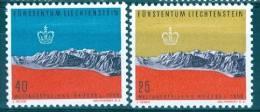 Liechtenstein 1958 World's Fair, Brussels MNH** - Lot. 1856 - Liechtenstein