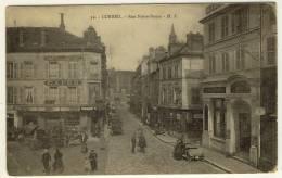 CORBEIL ESSONNES  -  Perspective Sur La Rue Notre Dame, Beau Plan Animé  -  Ed. HS, N° 52 - Corbeil Essonnes