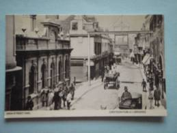 26195  REPRODUCTION  PC: SURREY: Croydon High Street 1880.  CROYDON PUBLIC LIBRARIES. - Altri