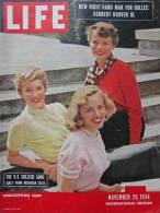 Magazine LIFE - NOVEMBER 15 , 1954 - INTER. ED. -     (3023) - Nouvelles/ Affaires Courantes