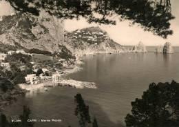 @CAPRI - MARINA PICCOLA - VIAGGIATA 1960 - Napoli (Naples)
