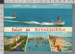 R8897 SALUTI DA RIVAZZURRA Rimini VEDUTE VG - Rimini
