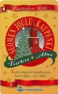 Finnland - 10 mk - 1998-12-01 - Code 6010-  -Turku, Christmas city of Finland -  Suo:TTL-D-262 - used