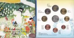 @Y@   FINLAND BU SET 2004   MUUMI SET   MET 2 EURO COMMEMORATIVE. - Finland