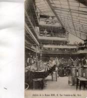 CPA - 75 - Ateliers De La Maison BEDU, 16 Rue Fontaine-au-Roi 11e - Coins Coupés  -  518 - Paris (11)