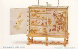 Tuck - The Queen´s Dolls´ House Series IV Postcard No. 4503 - Chinese Cabinet In Queen´s Bedroom - Tuck, Raphael