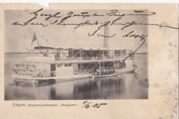 """Schaufelraddampfer """"MARGARET"""", Regierungsdampfer In Lagos, Um 1904 - Steamers"""