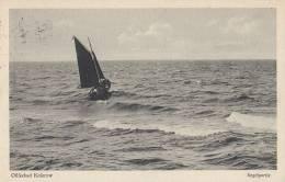 Segelboot Auf Ostsee Vor Ostseebad Koserow, Gestempelt: Koserow 21.8.1926 - Segelboote