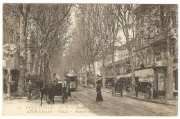 NICE   ----  Avenue De La Gare   (  Attelage Et Tram ) - Transport Ferroviaire - Gare