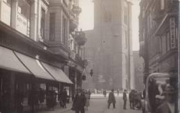 Dortmund, Brückstraße Und Reinoldikirche, Um 1935 - Kirchen U. Kathedralen