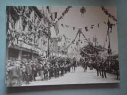 26203  REPRODUCTION  PC: SURREY: Katherine Street, Croydon, 19th May 1896. CROYDON PUBLIC LIBRARIES. - Altri