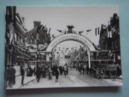 26204  REPRODUCTION  PC: SURREY: North End, Croydon, 19th May 1896. CROYDON PUBLIC LIBRARIES. - Altri