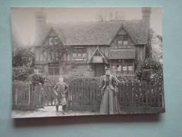 26205  REPRODUCTION  PC: SURREY: Post Office, Limpsfield Road, Sanderstead, C. 1896. CROYDON PUBLIC LIBRARIES. - Altri