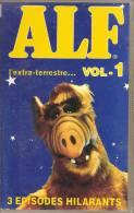 K7, VHS. ALF L'extra-terrestre... VOL.1.  3 épisodes Hilarants. - Enfants & Famille