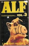 K7, VHS. ALF L'extra-terrestre... VOL.3.  3 épisodes Hilarants. - Enfants & Famille