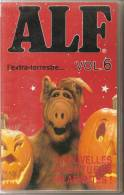 K7, VHS. ALF L'extra-terrestre... VOL.6.  3 Nouvelles Aventures Hilarantes. - Enfants & Famille