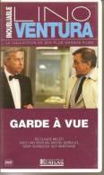 K7 Vidéo, VHS. GARDE A VUE. Lino VENTURA, Michel SERRAULT, Romy SCHNEIDER, Guy MARCHAND. - Comedy