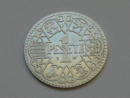 Espagne - Spain - 1 Una Peseta  1944 **** EN ACHAT IMMEDIAT **** - Espagne