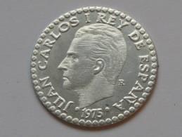 Espagne - Spain - 1 Una Peseta  1975 - Juan Carlos I Rey De Espana **** EN ACHAT IMMEDIAT **** - Espagne