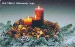 # KOREA MO9811139 Candle 2000 Autelca 11.98  Tres Bon Etat - Corée Du Sud