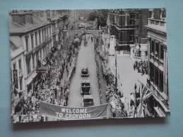 26217  REPRODUCTION  PC: SURREY: Katharine Street, Croydon, 9th June 1933. CROYDON PUBLIC LIBRARIES. - Altri