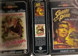 K7,Coffrert 2 VHS, René Chateau. LES DIABOLIQUES - LE SALAIRE DE LA PEUR. Simone SIGNORET, Yves MONTAND, Paul MEURISSE, - Comedy