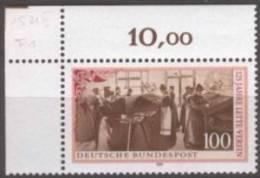 Bundespost Mi.1521 Postfris Plaatfout F1 - [7] West-Duitsland