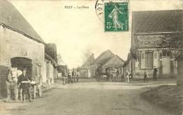 PEZY - La Place (très Animée)      -- Percevaux - Autres Communes