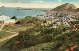 Rio De Janeiro Old Postcard - Rio De Janeiro