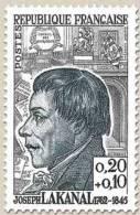 N° 1347 Joseph Lakanal Faciale 0,20+0,10 F - France