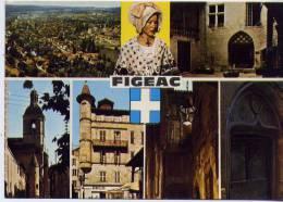 46 - FIGEAC - Multi-vues - Figeac