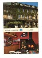 Cp , 34 , BEZIERS , Hôtel De La Compagnie Du Midi , Vierge , Publicité , Commerce , Propriétaire : Famille Sabarros - Restaurants