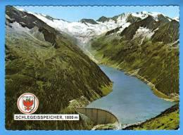 Österreich; Tirol Ginzling Schlegeisspeicher Mit Hochfeilergruppe Und Schlegeisgletscher - Österreich