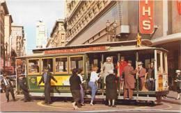 San Francisco, California - Cable Car On Turntable - Otros