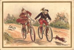 Publicité - FABRIQUE DE CHICORÉE LEDOUX ET VANDENBROUCQUE - Chasse à Courre - Tee & Kaffee