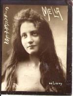 Publicité - CIGARETTES MELIA DE LIGNY - FEMME - Melia