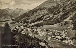 CPSM PONTRESINA (Suisse-Grisons) - Vue Générale 1828 M - GR Grisons