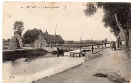 BEUVRY - Le Pont Tournant / Toueur, Tracteur électrique - Beuvry