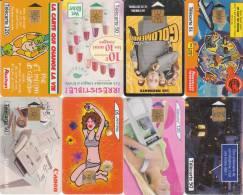 Lot De 8 Telecartes - Télécartes